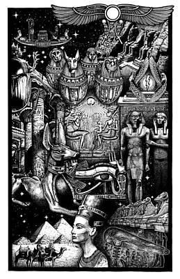 Kemitology Poster by Matthew Ridgway