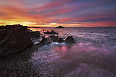 Kennebunk Sunrise Poster by Eric Gendron
