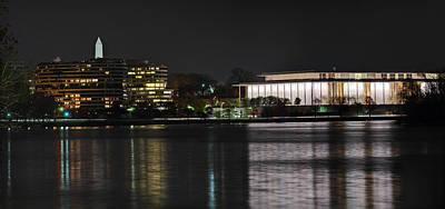 Kennery Center For The Performing Arts - Washington Dc - 01131 Poster by DC Photographer