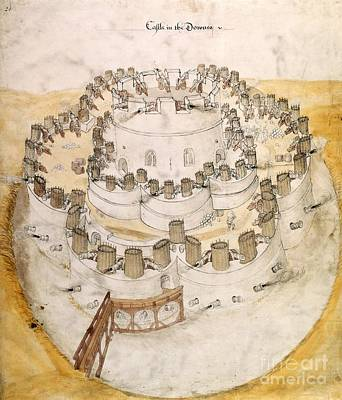 Kent Artillery Fort, 16th Century Poster by British Library