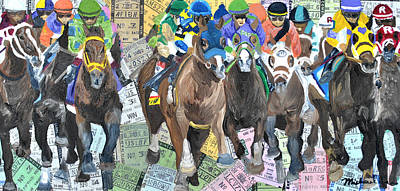 Kentucky Derby 2014 Poster by Michael Lee