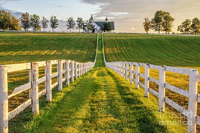 Kentucky Scenery Poster by Anthony Heflin