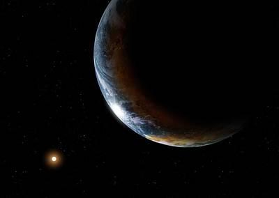 Kepler-186f Poster by Detlev Van Ravenswaay
