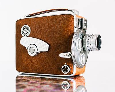 Keystone 8mm Camera Poster by Jon Woodhams