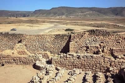 Khor Rori Archaeological Site Poster by Bildagentur-online/tschanz-hofmann