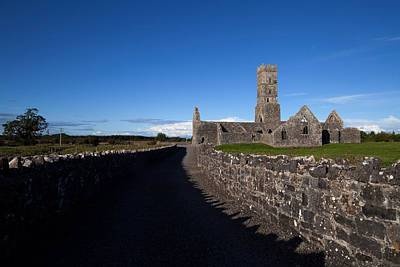 Kilconnell Friary Founded In 1353 Poster by Panoramic Images