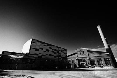 Kimex Shipyard Entrance And Dry Dock Building Kirkenes Finnmark Norway Europe Poster by Joe Fox