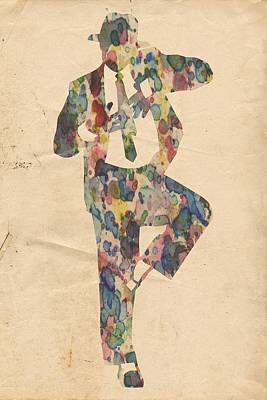 King Of Pop In Concert No 10 Poster by Florian Rodarte