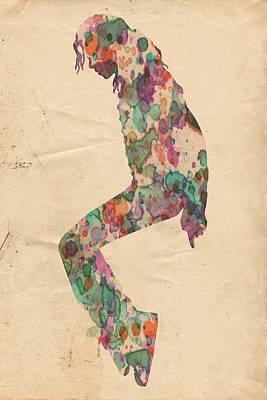 King Of Pop In Concert No 8 Poster by Florian Rodarte