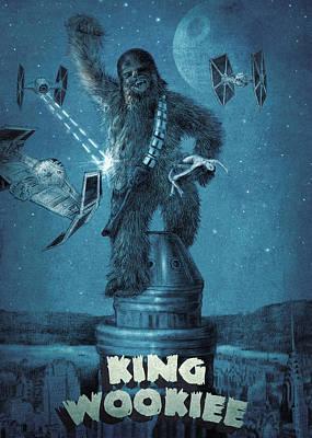 King Wookiee Poster by Eric Fan