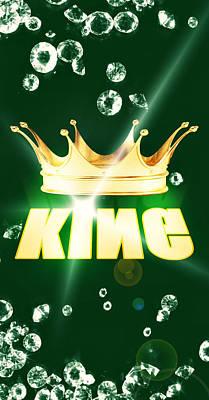 King Poster by Pierre Chamblin