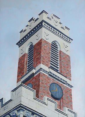 Kirkland Tower II Poster by Dillard Adams