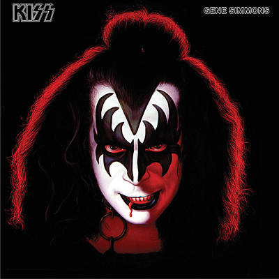 Kiss - Gene Simmons Poster by Epic Rights