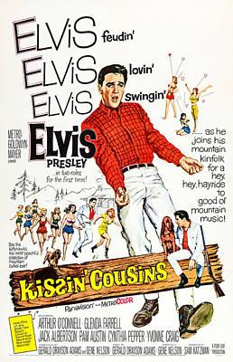 Kissin Cousins, Us Poster Art, Elvis Poster by Everett