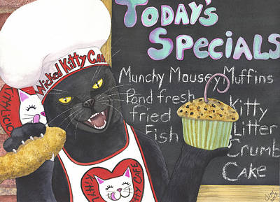 Kittylicious Poster by Catherine G McElroy