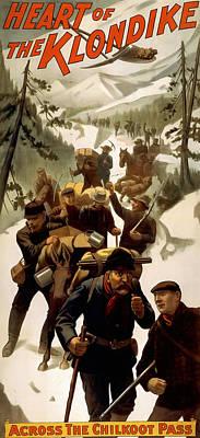 Klondike Chilkoot Pass C. 1897 Poster by Daniel Hagerman