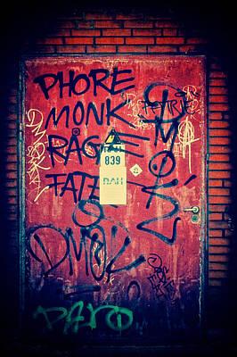 Knock Five Times Poster by Odd Jeppesen