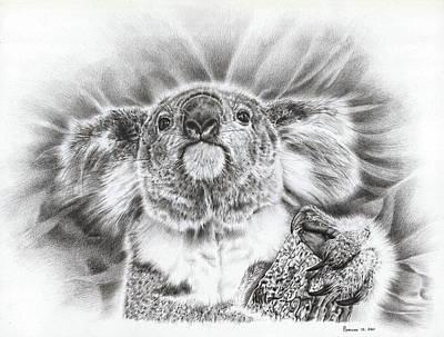 Koala Roto Princess Poster by Remrov
