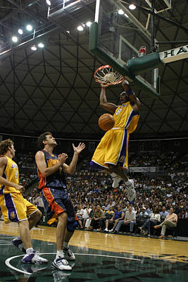 Kobe Bryant Dunk Poster by Mountain Dreams