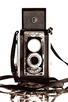 Kodak Duaflex Iv Camera Poster by Jon Woodhams