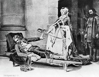 Kosciusko And Catherine II Poster by Granger