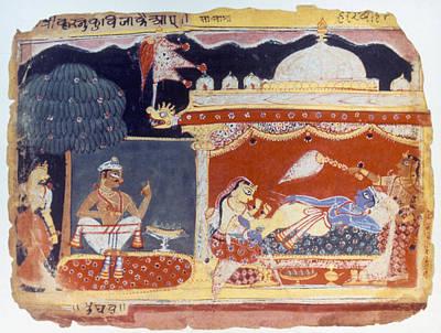Krishna, C1525-1570 Poster by Granger