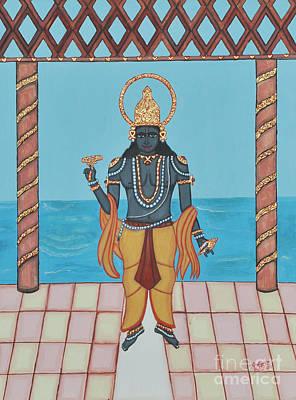Krishna Poster by Pratyasha Nithin