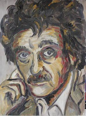 Kurt Vonnegut Poster by Emily Hart