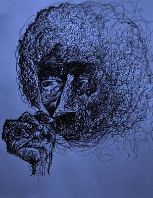 Kurt Vonnegut Poster by Will  Carlson