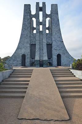 Kwame Nkrumah Memorial Park Poster by Ronda Broatch