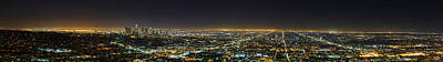 La At Night Poster by Metro DC Photography
