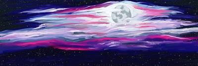La Luna 5 Poster by Jeanne Fischer