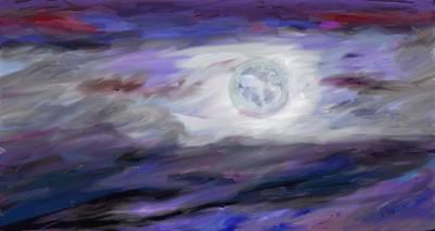 La Luna Poster by Jeanne Fischer
