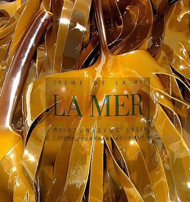 La Mer Creme Poster by Donnie Freeman