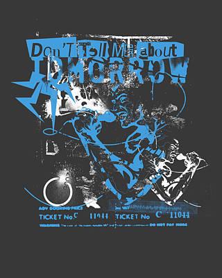 La Punk Rock Poster by Pop Culture Prophet