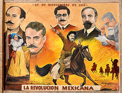 La Revolution Mexicana Poster by Christine Till