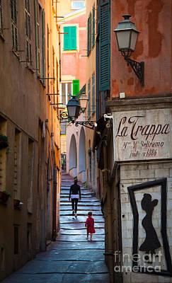 La Trappa Poster by Inge Johnsson