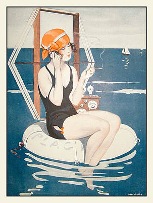La Vie Parisienne Poster by Georgia Fowler