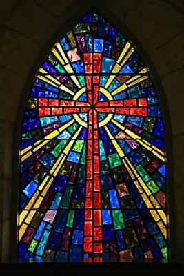 La Villita Cross Poster by Stephen Stookey