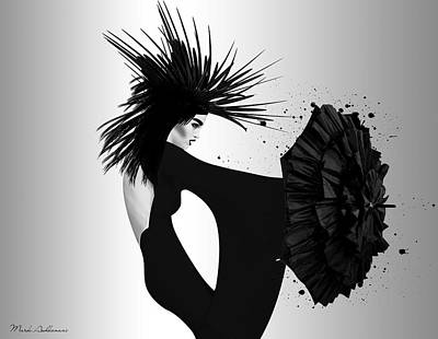 Lady D 2 Poster by Mark Ashkenazi