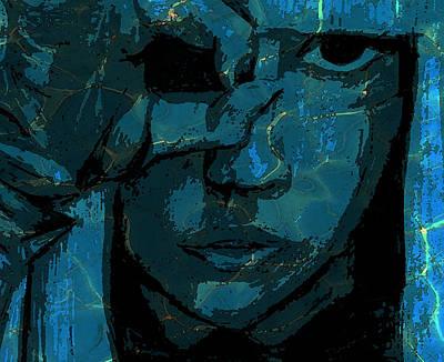 Lady Gaga Poster by Rosemary Bingay