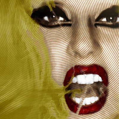 Lady Gaga Poster by Tony Rubino