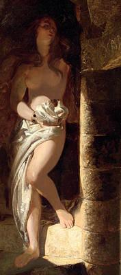 Lady Godiva  Poster by Edward Henry Corbould