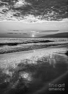 Lahaina Sunset Poster by Jamie Pham