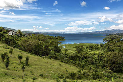 Lake Arenal View In Costa Rica Poster by Andres Leon