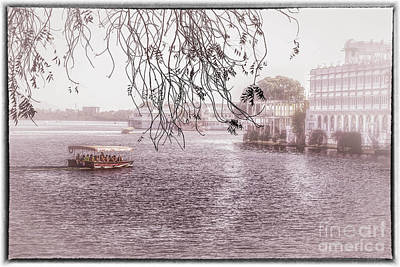 Lake Pichola In Udaipur Poster by Catherine Arnas