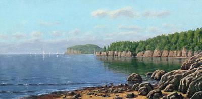 Lake Superior Poster by Rick Hansen
