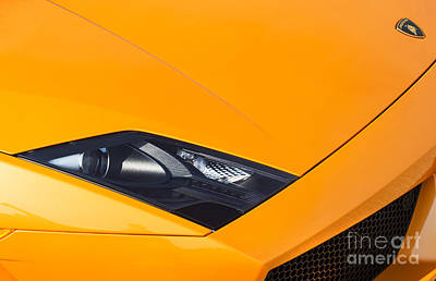 Lamborghini Abstract Poster by Tim Gainey
