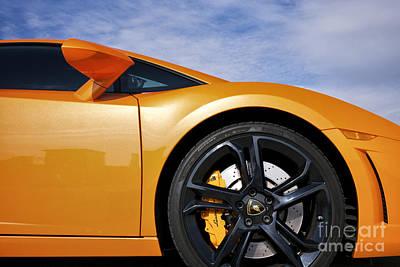 Lamborghini Gallardo Poster by Tim Gainey