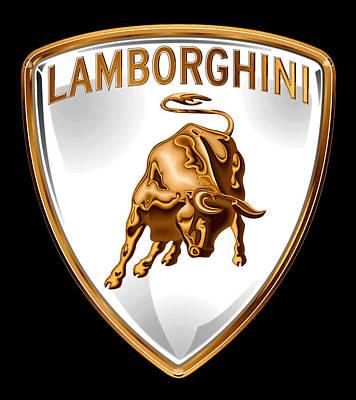 Lamborghini Insignia Poster by Daniel Hagerman